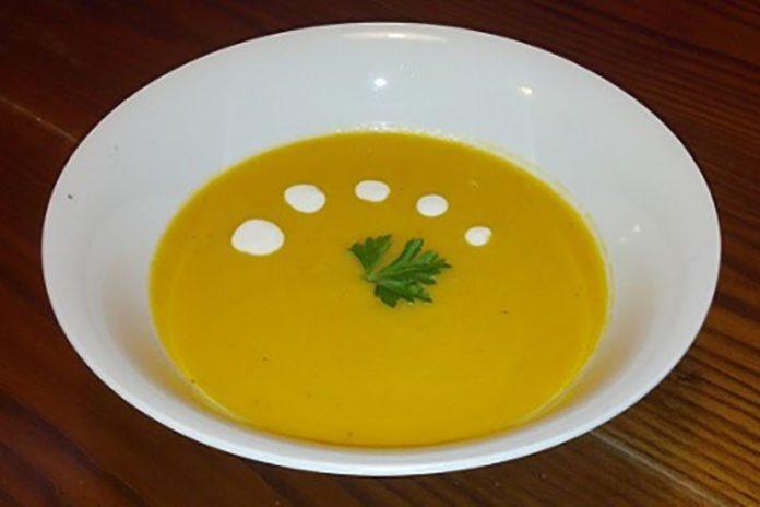 Pumpkin & Carrot Soup
