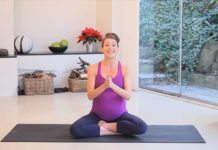 Yoga while pregnant